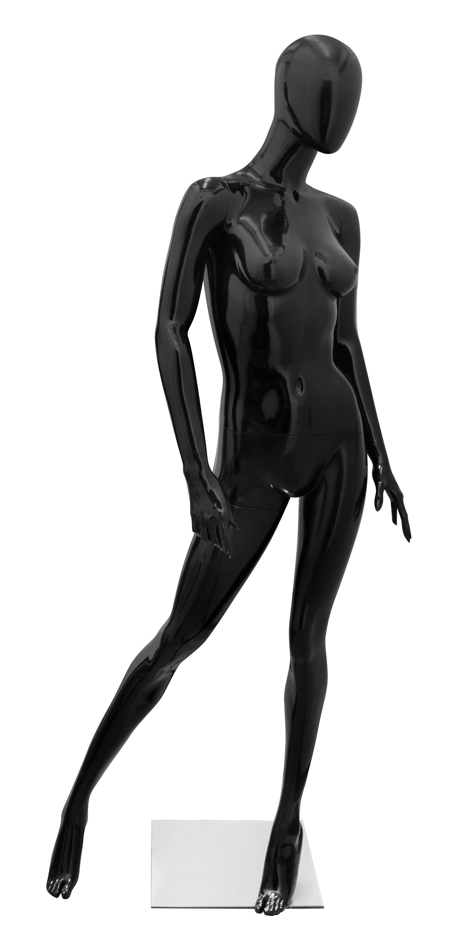 figurína dámská WOMAN1 (pootočená doleva) černá