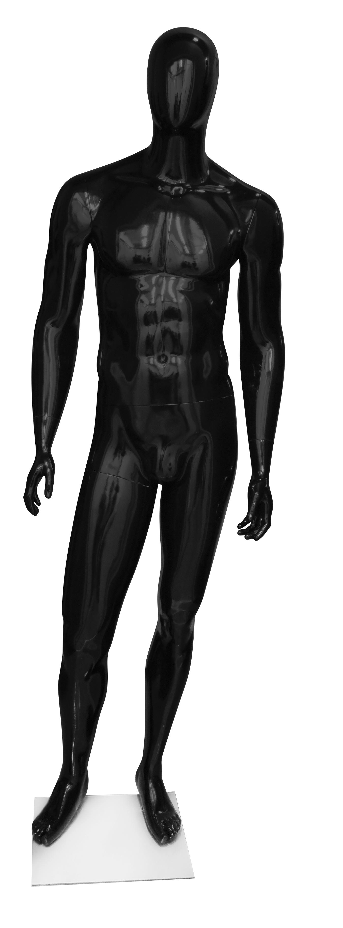 figurína pánská MAN1 (ruce rovně) černá