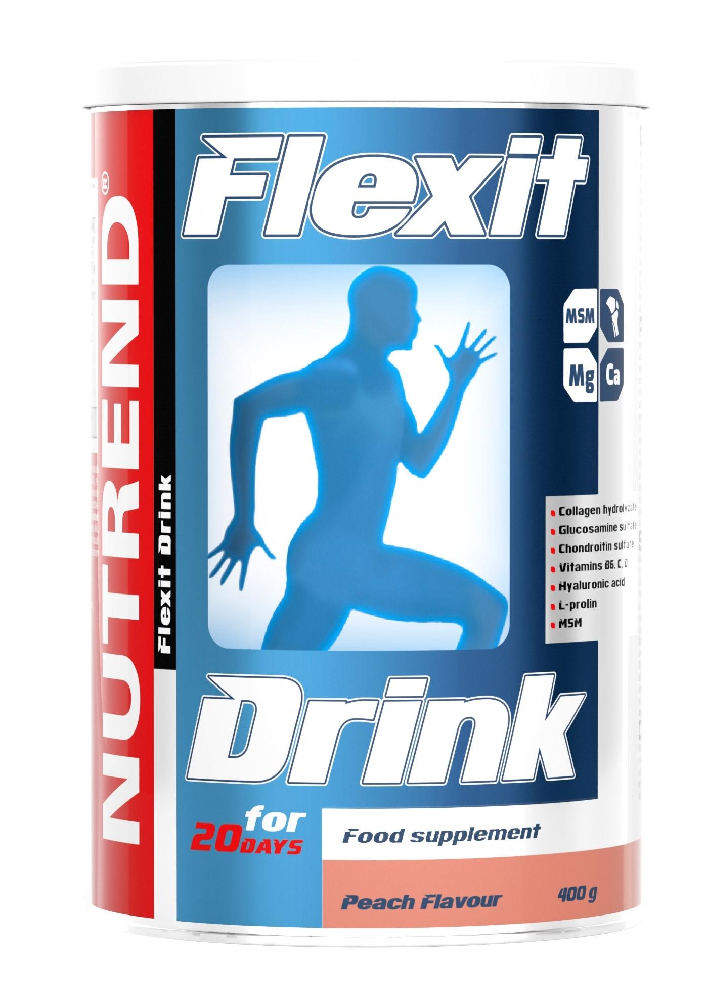 FLEXIT DRINK 400g      broskev