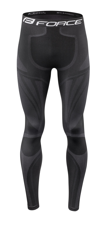 funkční kalhoty FORCE FROST, černé M-L