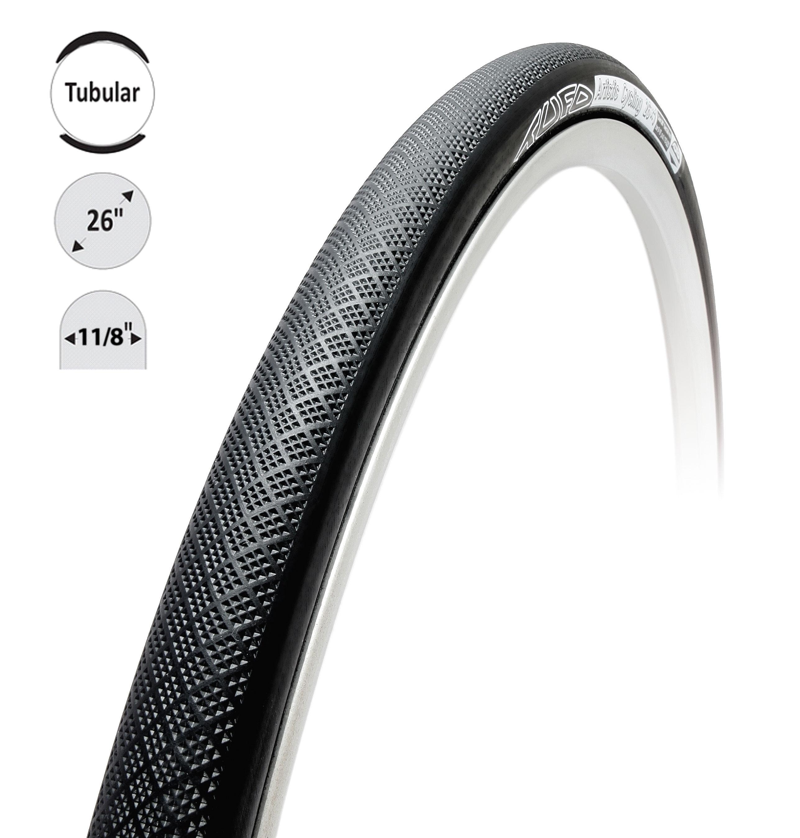 "galuska TUFO ARTISTIC CYCLING 26x1 1/8"" černá"