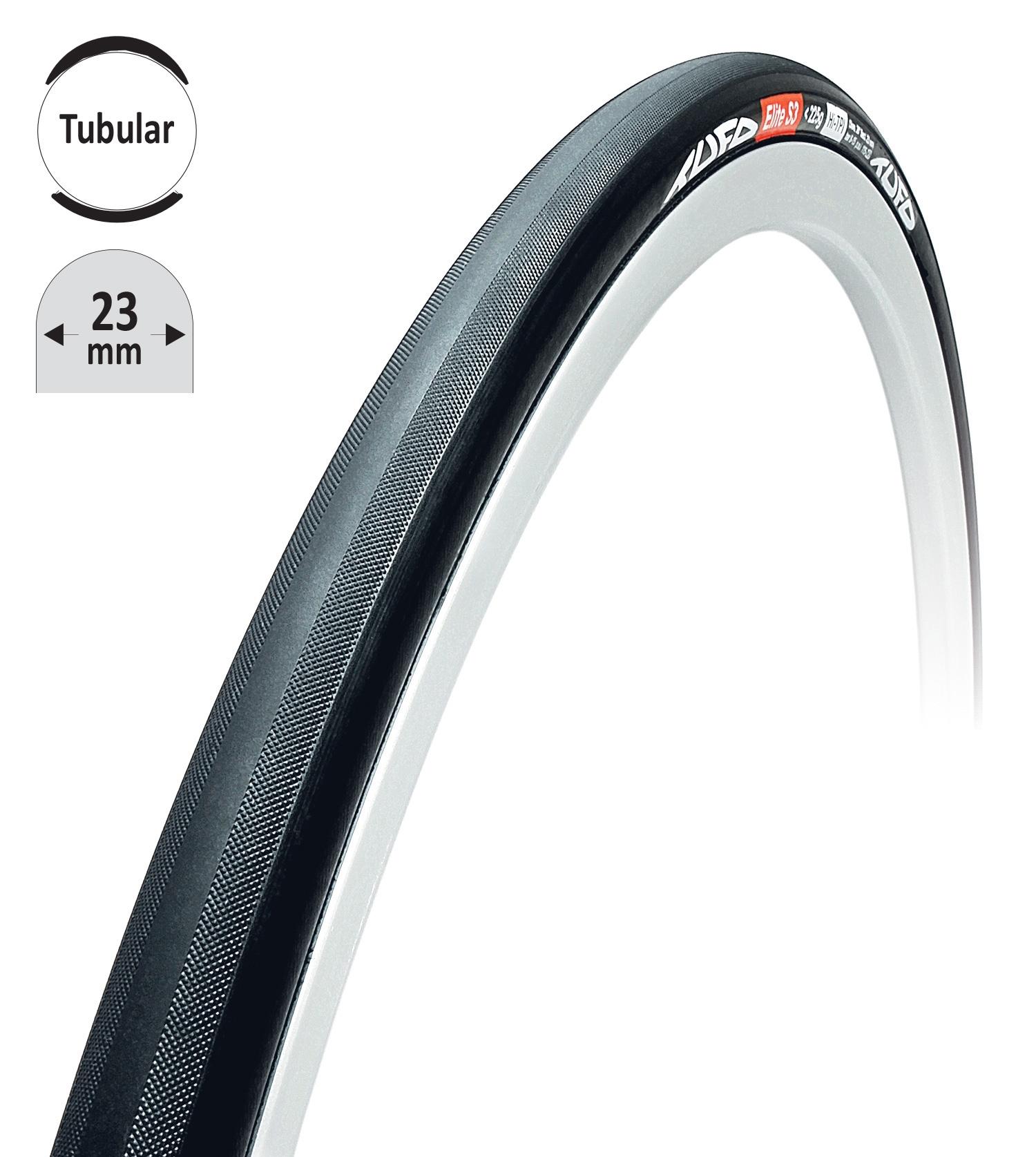 """galuska TUFO ELITE S3 <225g černo-černá 28""""/23mm"""