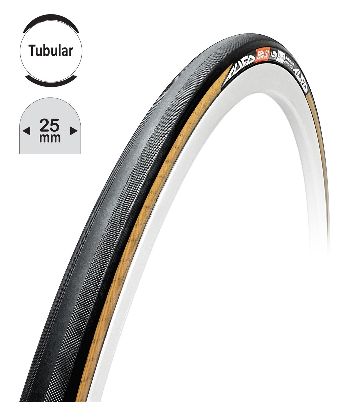 """galuska TUFO ELITE S3 25 černo-béžová 28""""/25mm"""