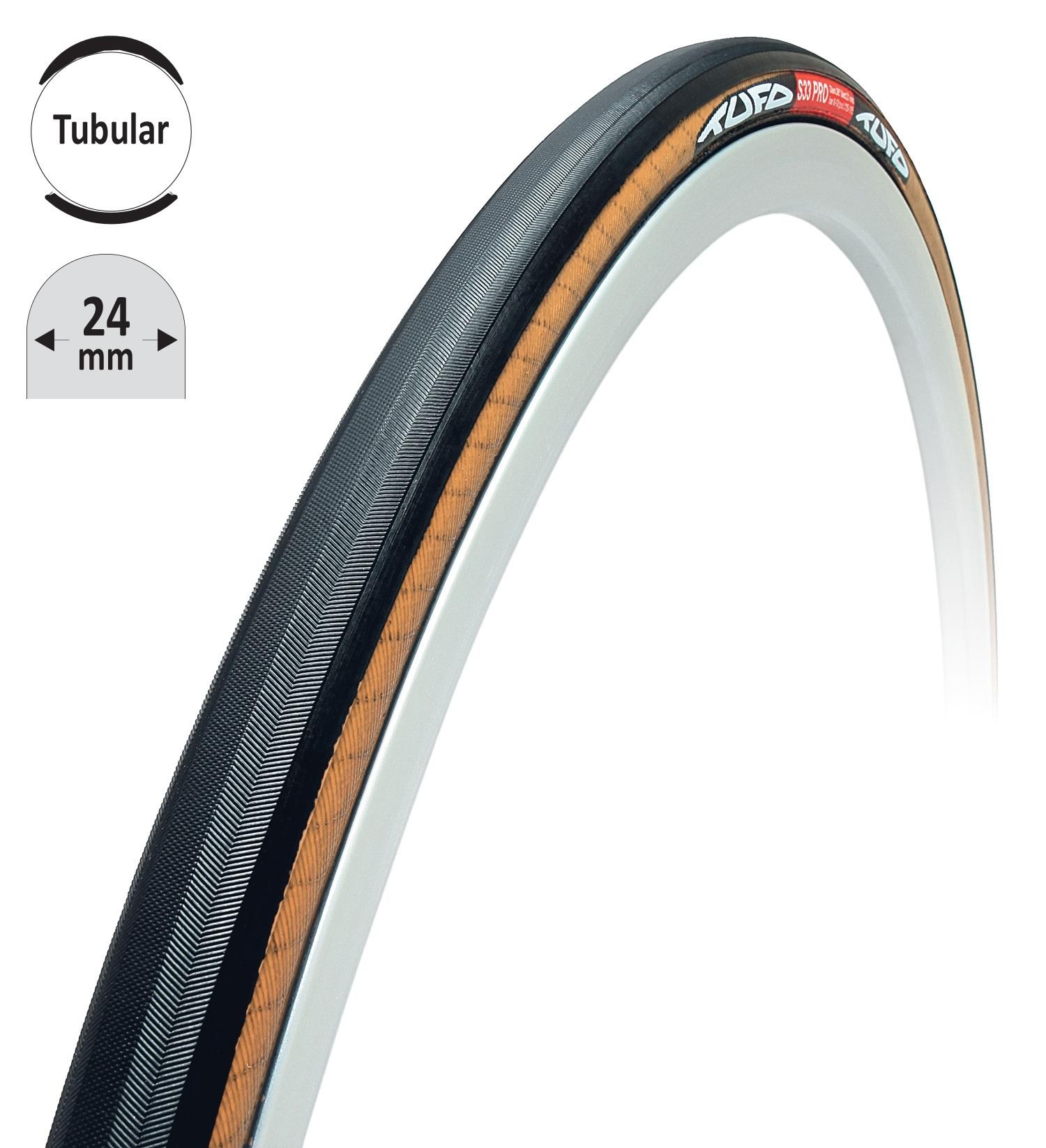 """galuska TUFO S33 PRO 24 černo-béžová 28""""/24mm"""