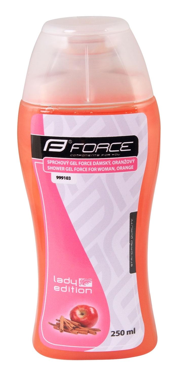 gel sprchový FORCE dámský, 250 ml,    oranžový