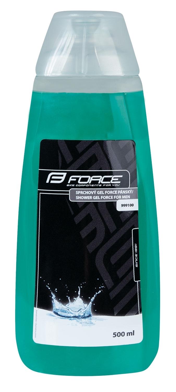gel sprchový FORCE pánský, 500 ml,    modrý