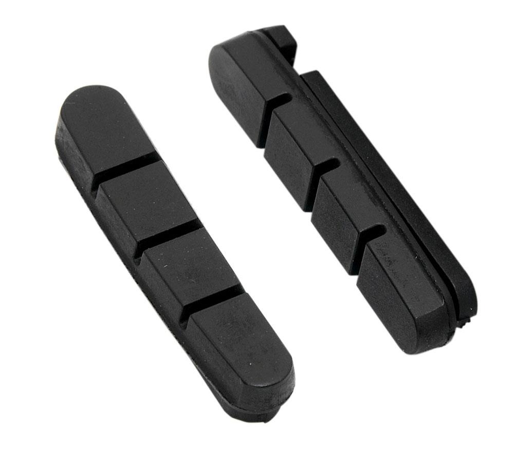 gumičky brzd FORCE silniční náhradní, černé 55mm