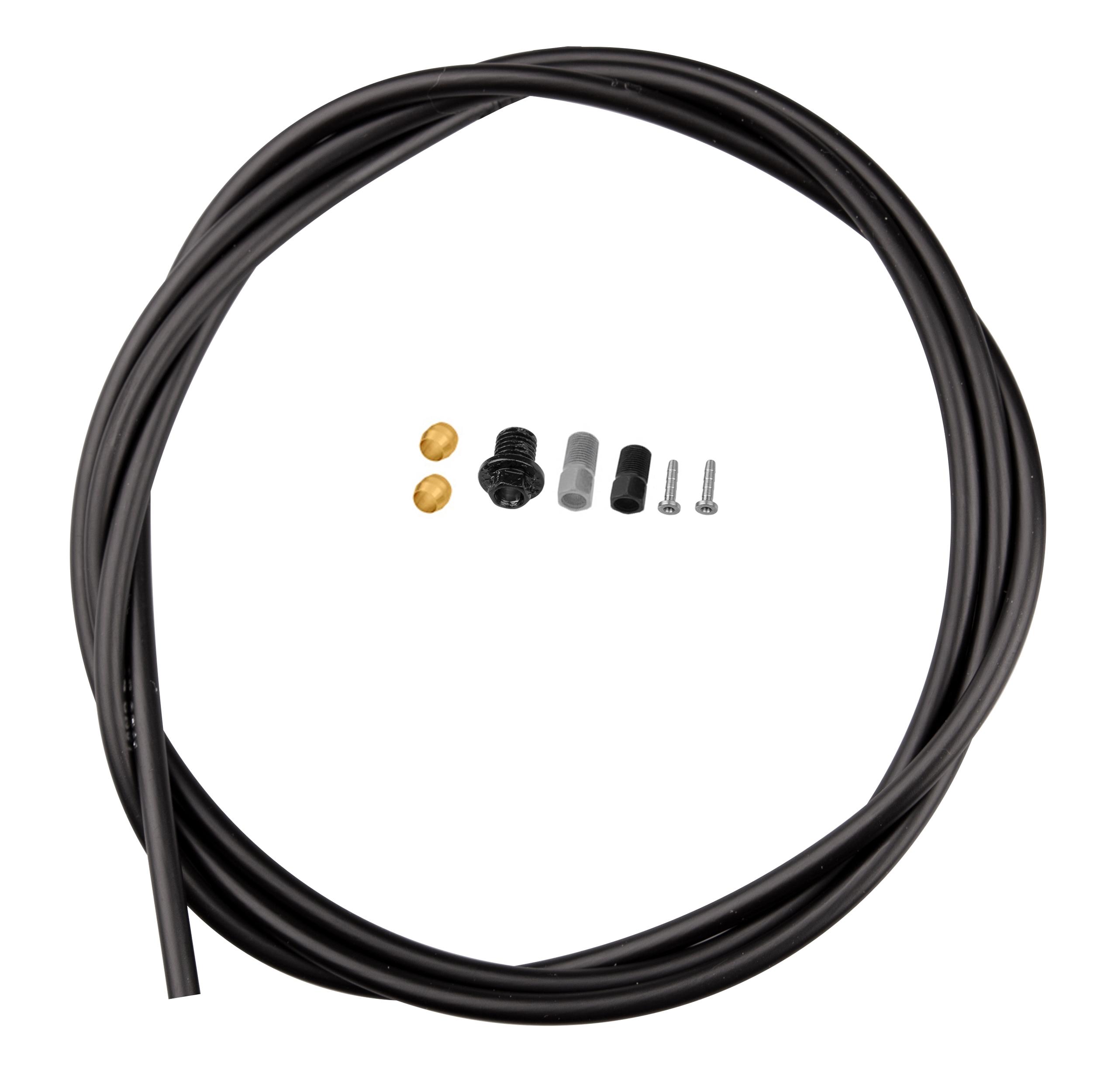 hadička brzdová SMBH90JKSSL 170 cm černá
