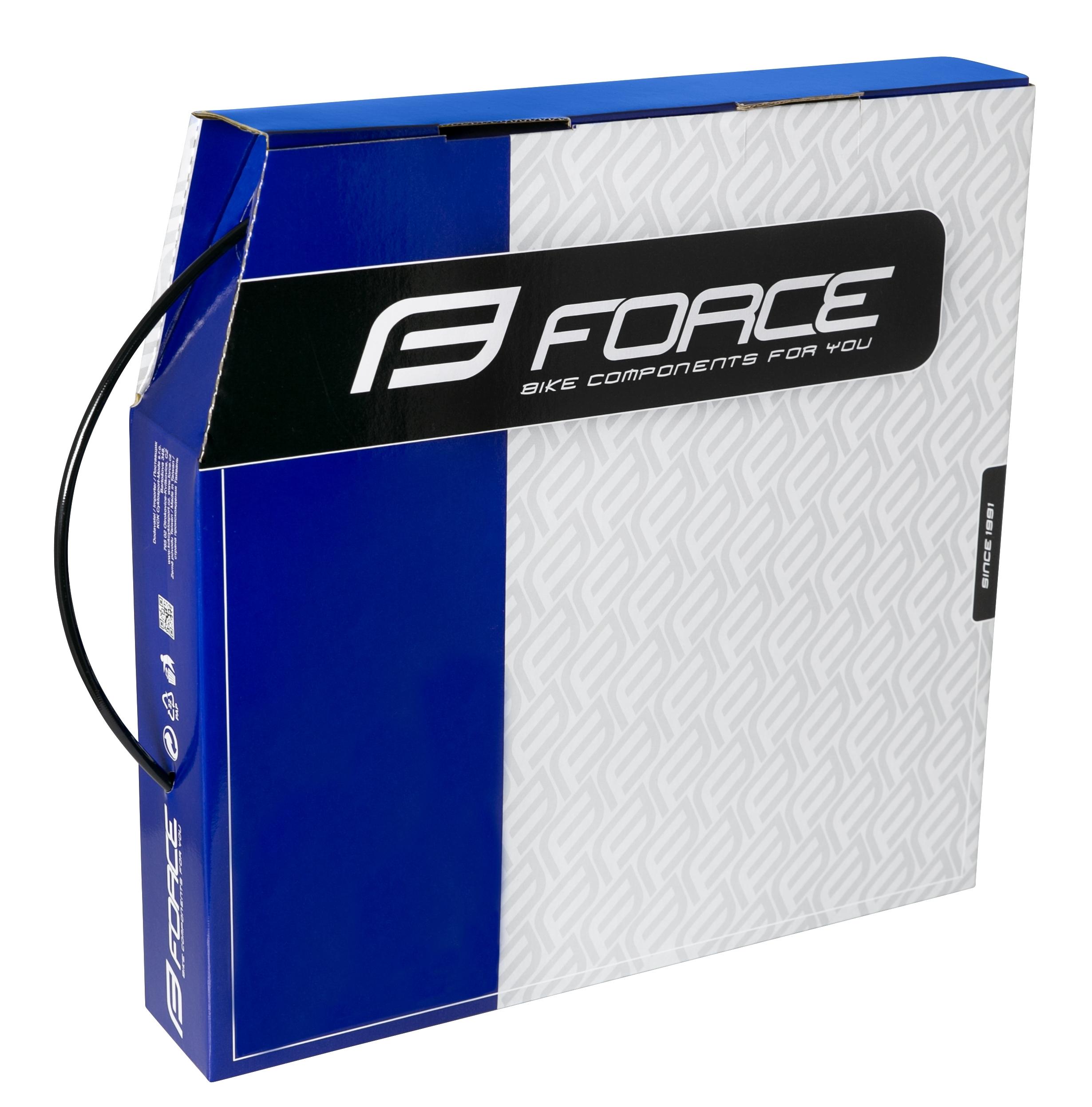 hadička hydr. FORCE 2,1x5mm SRAM, černá 30m BOX