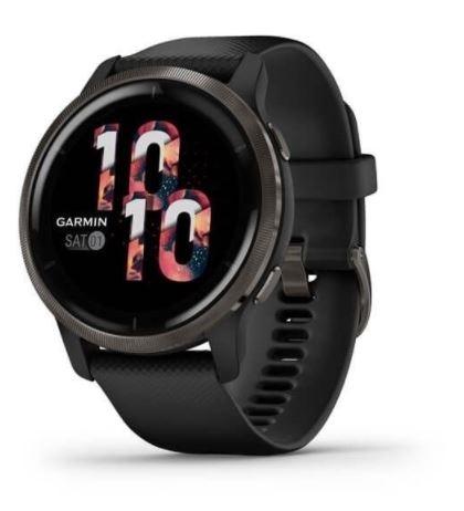 hodinky sportovní GARMIN Venu2, černé