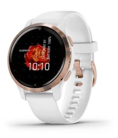 hodinky sportovní GARMIN Venu2S, bílé