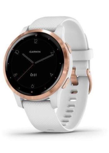 hodinky sportovní GARMIN vívoActive 4S, bílé od ninex.cz