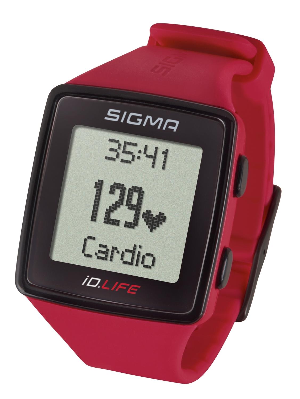 počítač SIGMA pulsmetr iD.LIFE červený