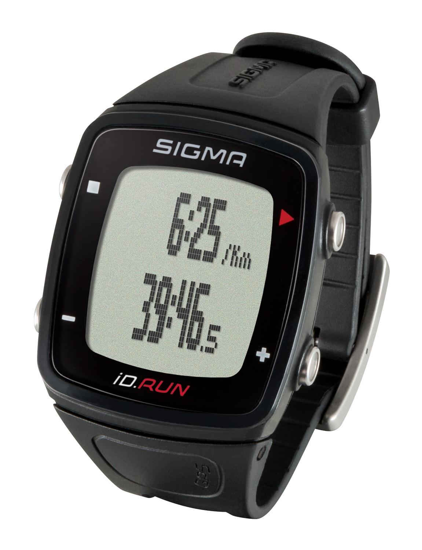 hodinky sportovní SIGMA iD.RUN, černé