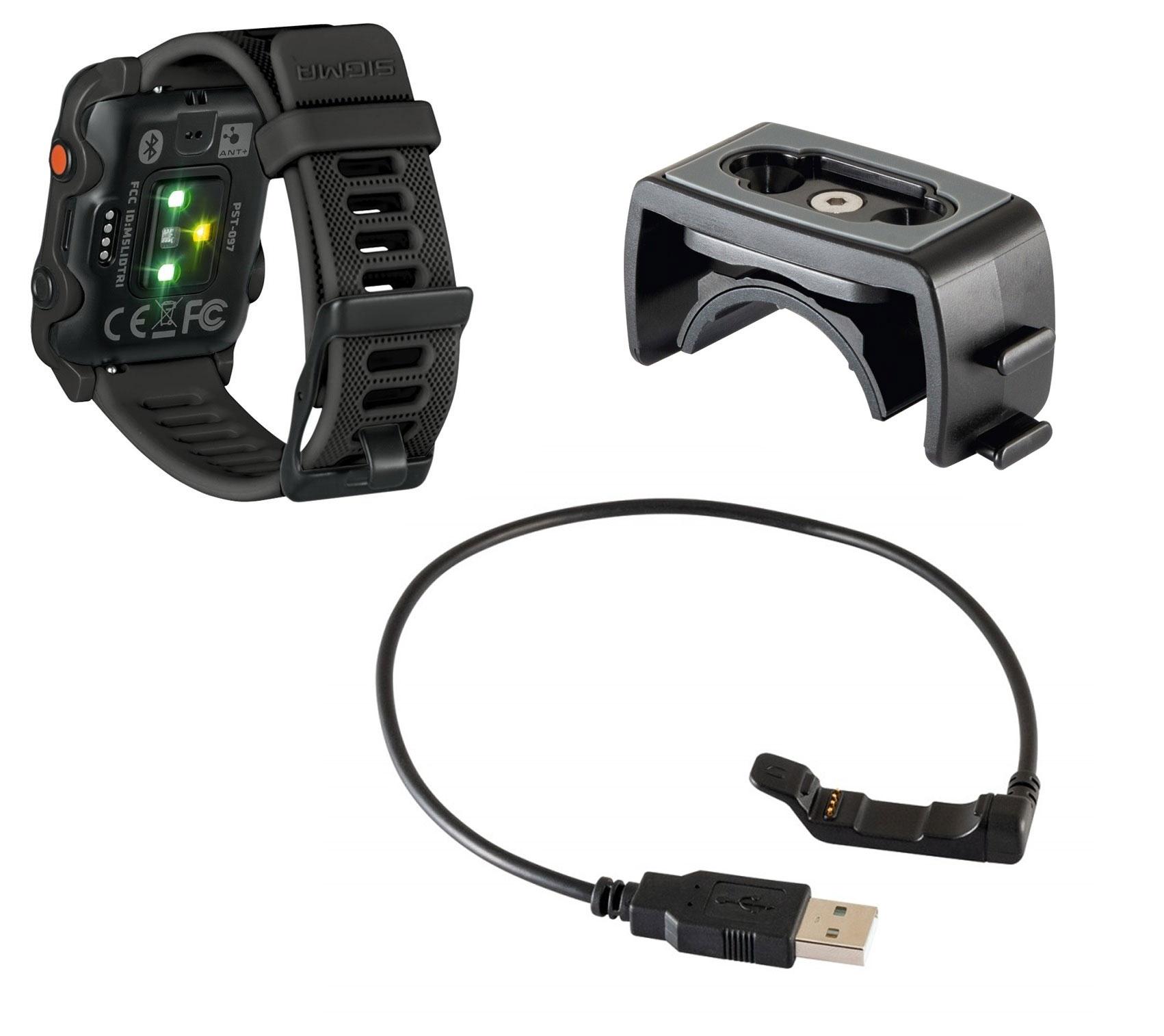 počítač SIGMA pulsmetr iD.TRI Basic, černý