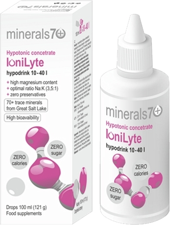 IoniLyte hypotonic concentrate 100ml, kapky