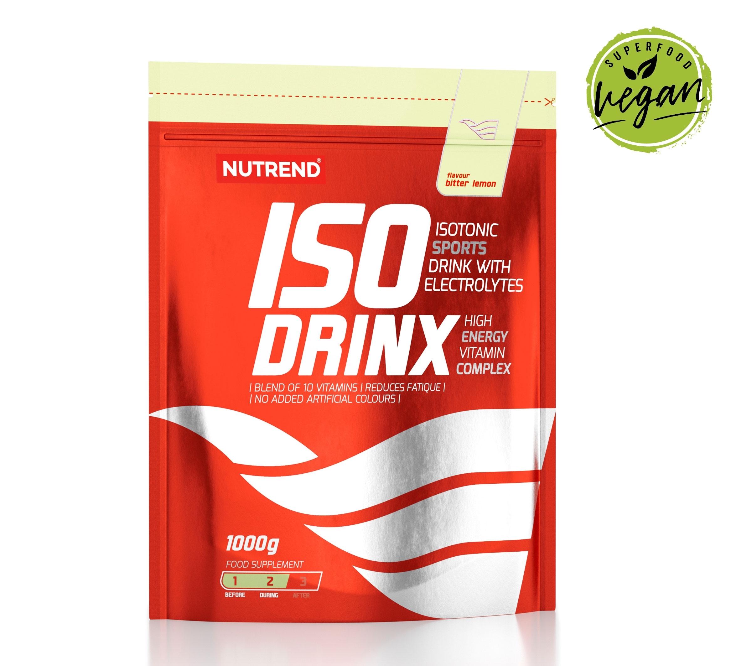 ISODRINX sáček 1000g     bitter lemon