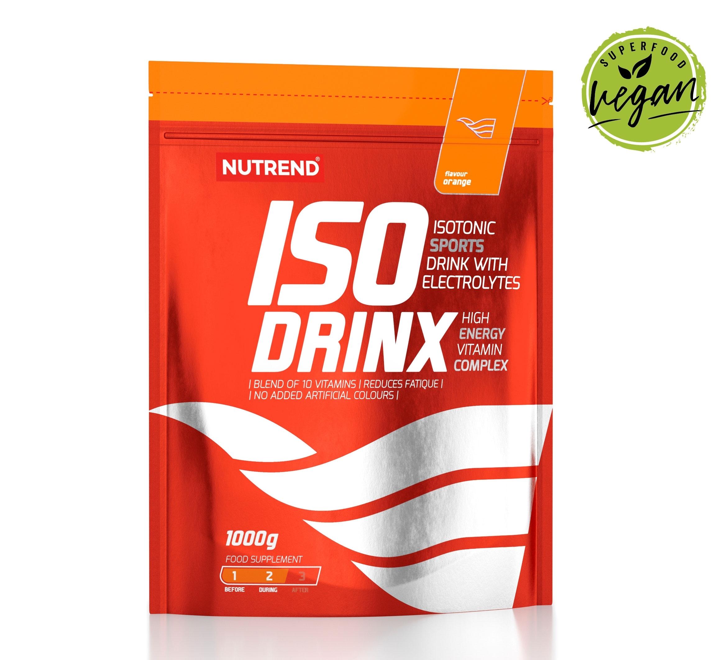 ISODRINX sáček 1000g     pomeranč