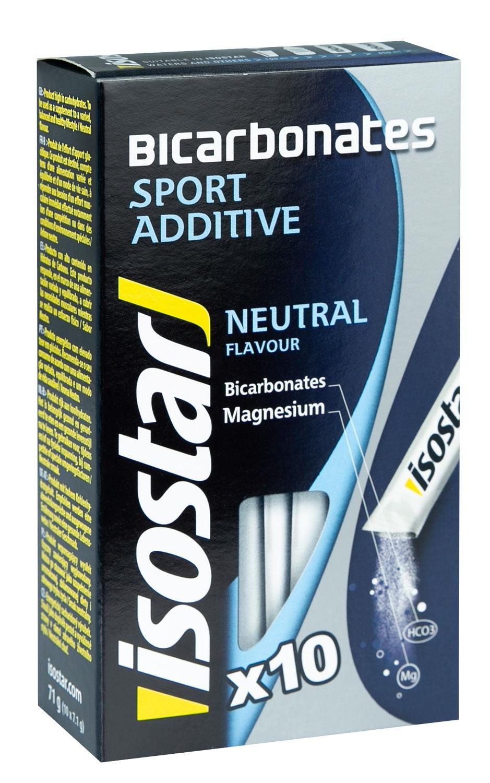 ISOSTAR Bicarbonates 10x 7,1 g, neutral, II.jakost