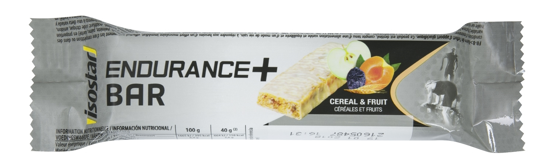 ISOSTAR energetická tyčinka E+bar 40g ovoce/cereal