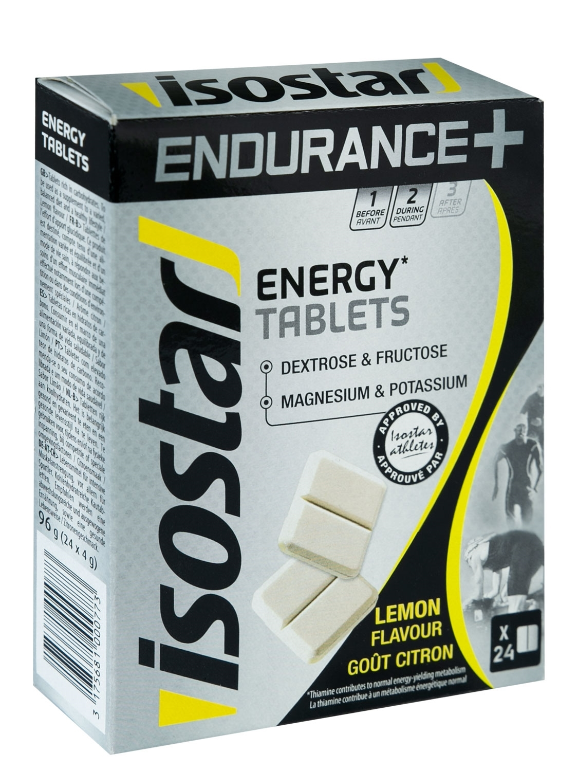ISOSTAR ENERGY ENDURANCE+ tablety 24x 4 g citron