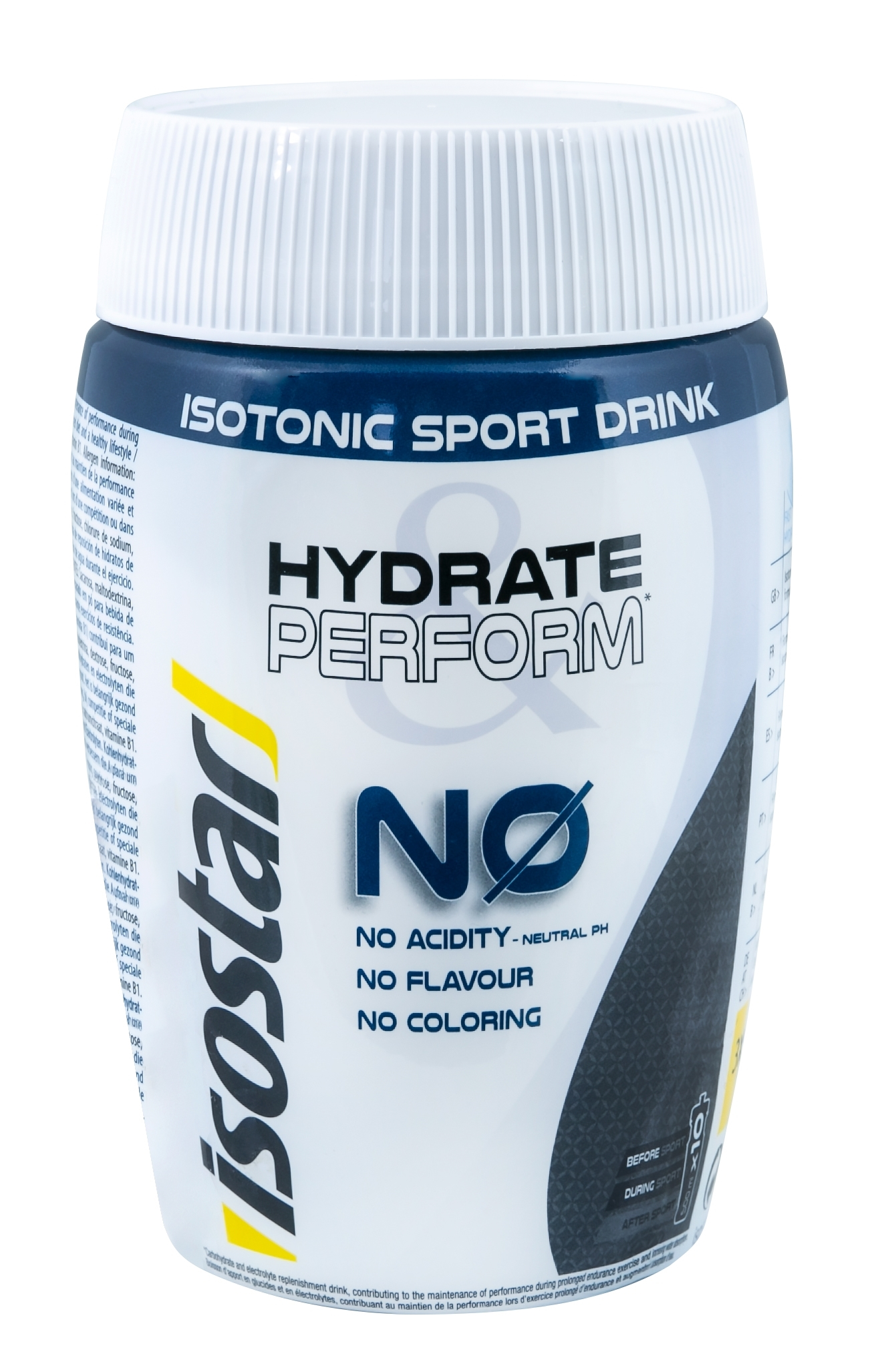 ISOSTAR prášek Hydrate and Perform, 400 g, neutral