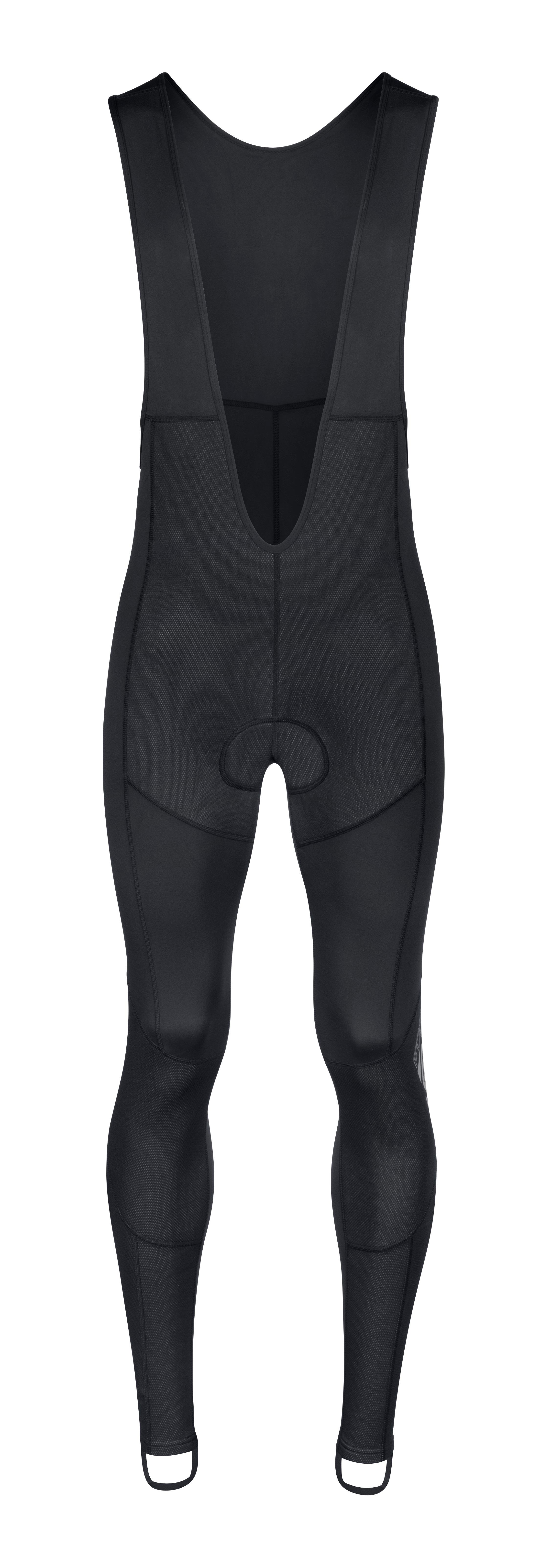 kalhoty F SHARD WINDSTER se šráky a vl, črn L