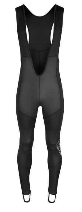 kalhoty F SHARD WINDSTER se šráky bez vl, črn XS