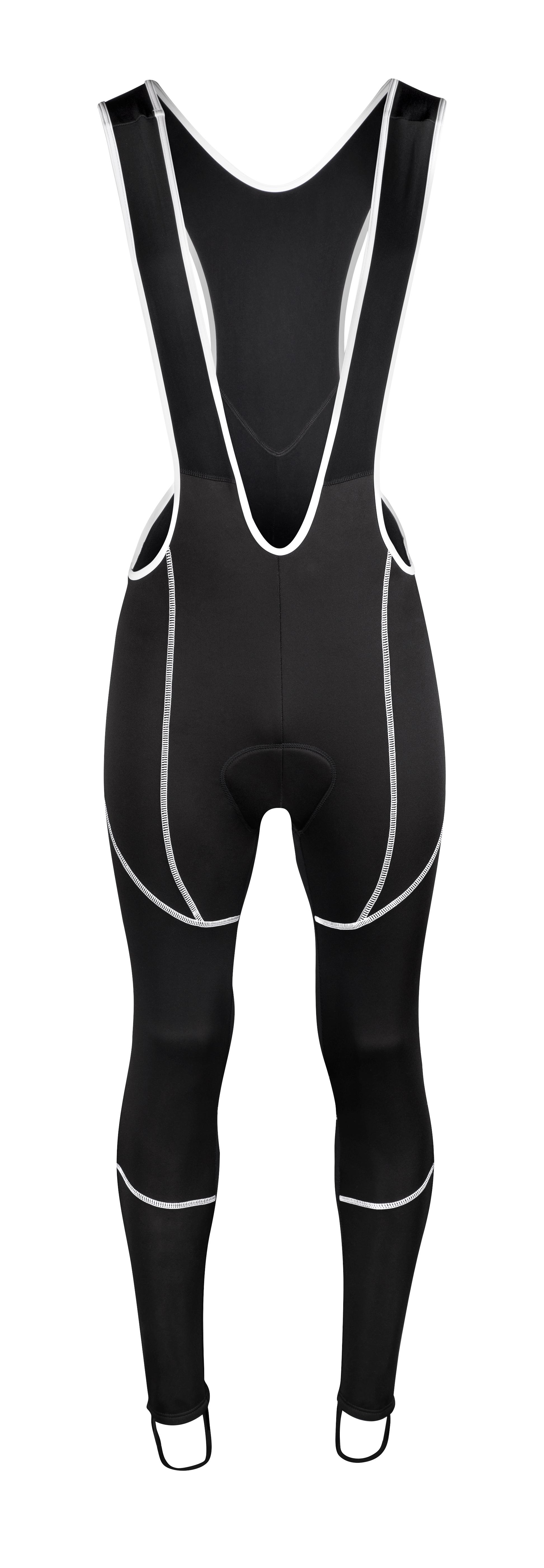 kalhoty FORCE Z70 SOFTSHELL se šráky a vložk, črn XXXL