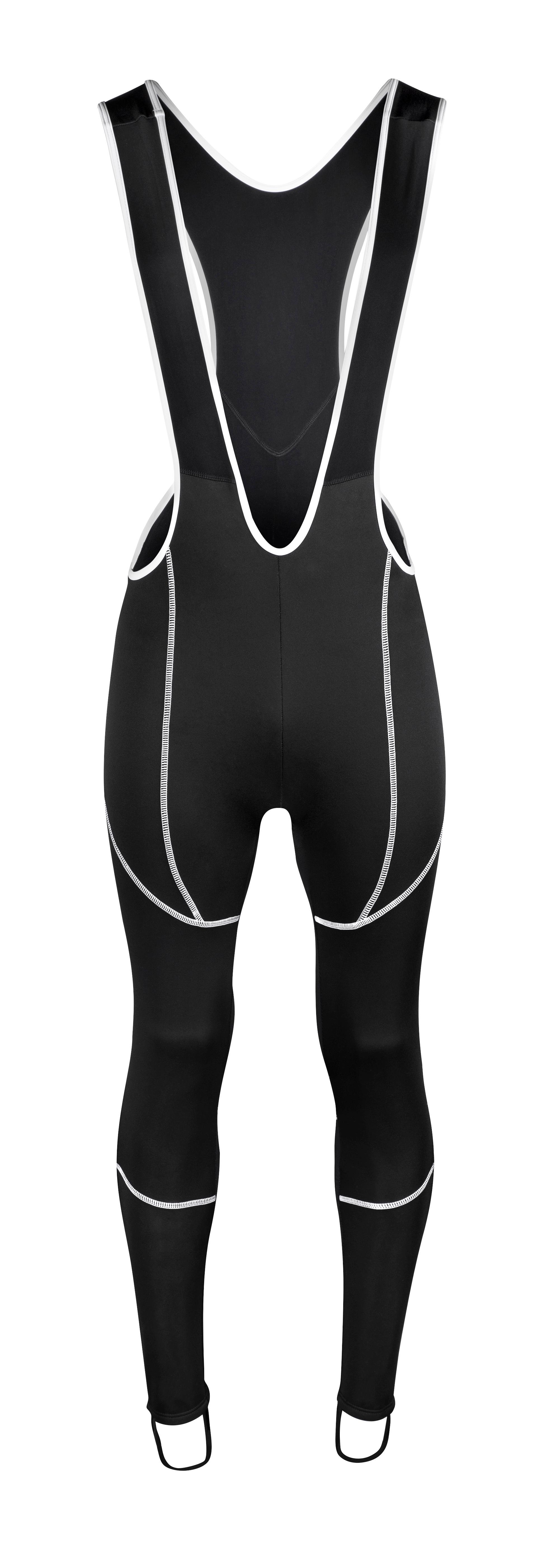 kalhoty FORCE Z70 SOFTSHELL se šráky bez vložky, črn S