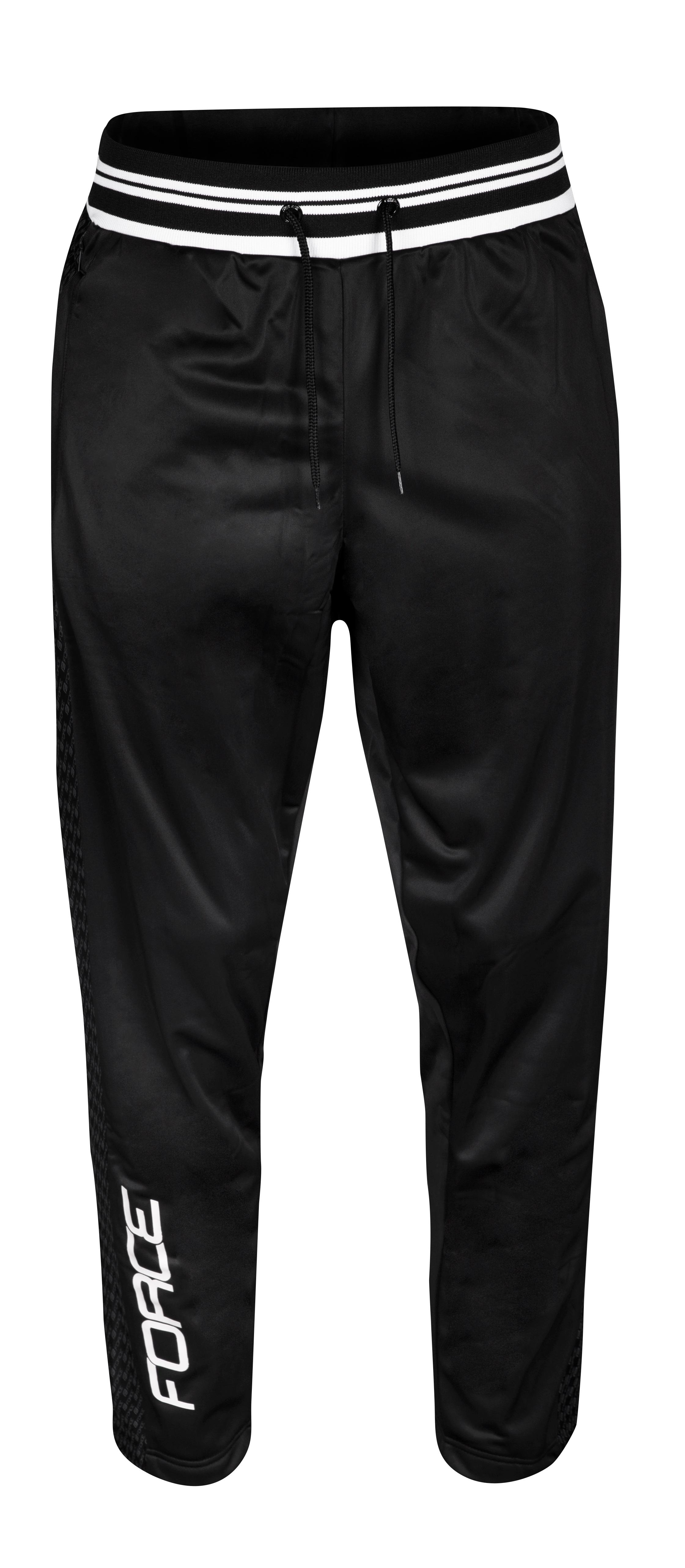 kalhoty/tepláky FORCE 1991, černé XXL