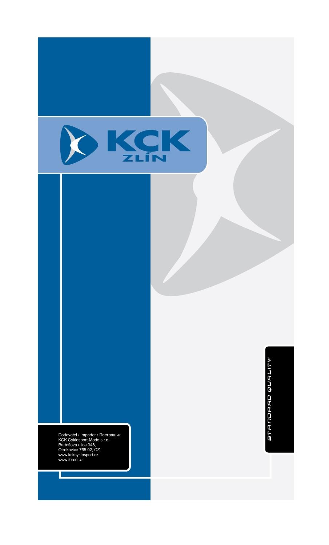 karta KCK MALÁ balící  8 x 15 cm