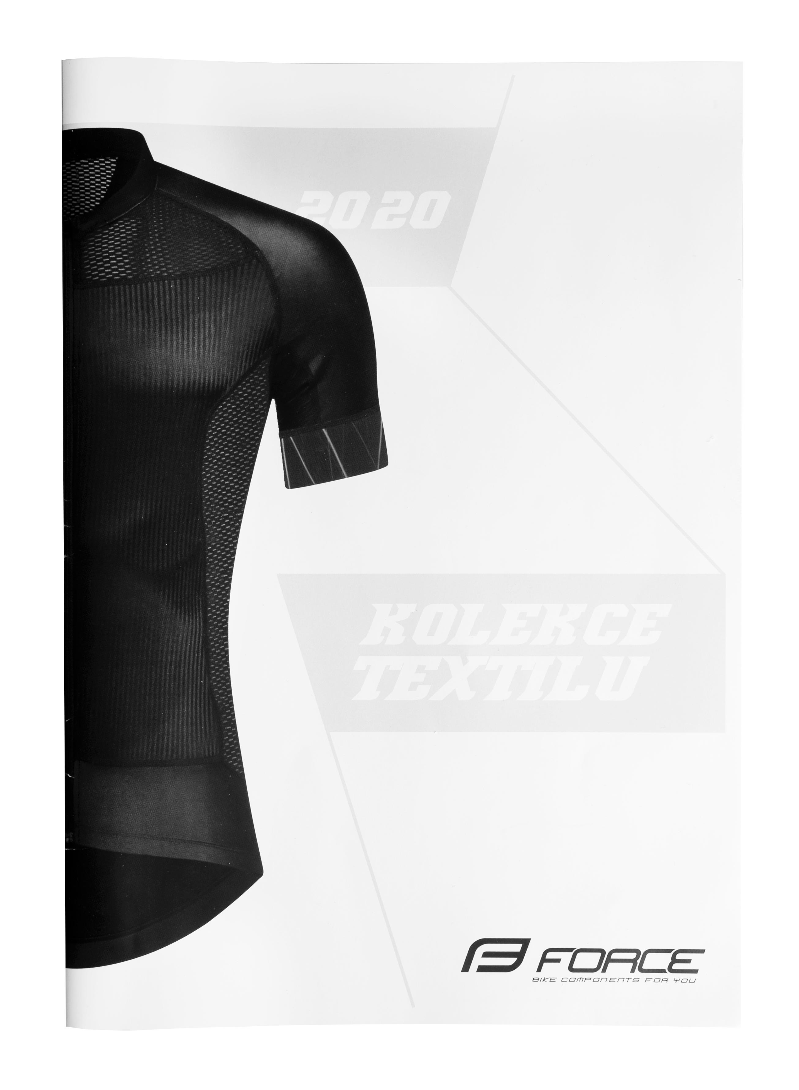 katalog velká A4 FORCE textil 2020  CZ, VOC verze