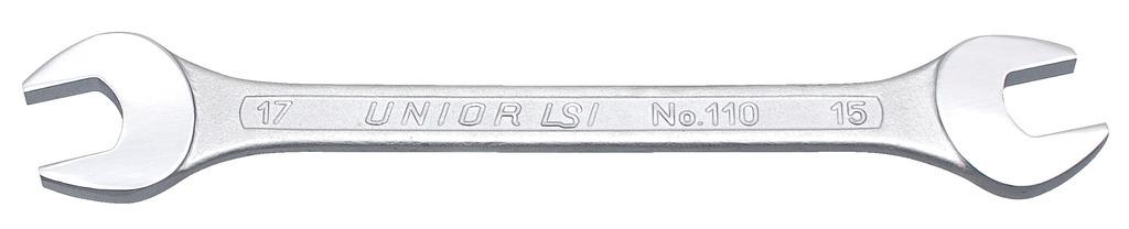 klíč oboustranný UNIOR otevřený 8x9