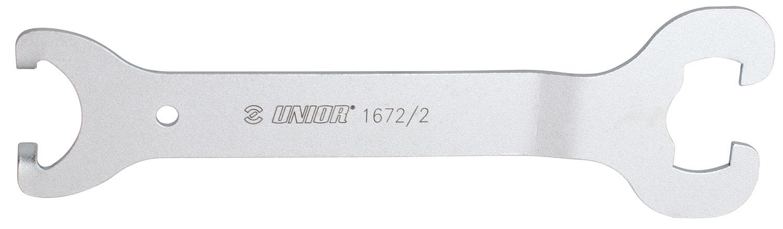 klíč UNIOR středového složení pro klínkové osy