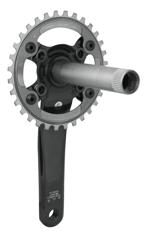 kliky FCM9000 jednopřevodník 175, 32 zubů, 11 kolo