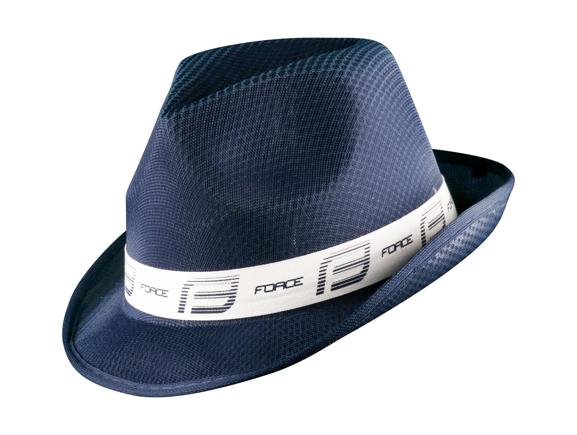 klobouk FORCE PANAMA, modro-bílý