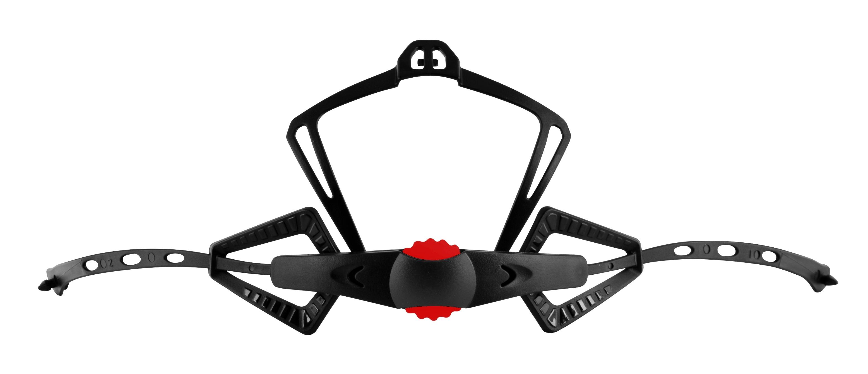 kolečko utahovací pro přilbu FORCE RAPTOR,černé