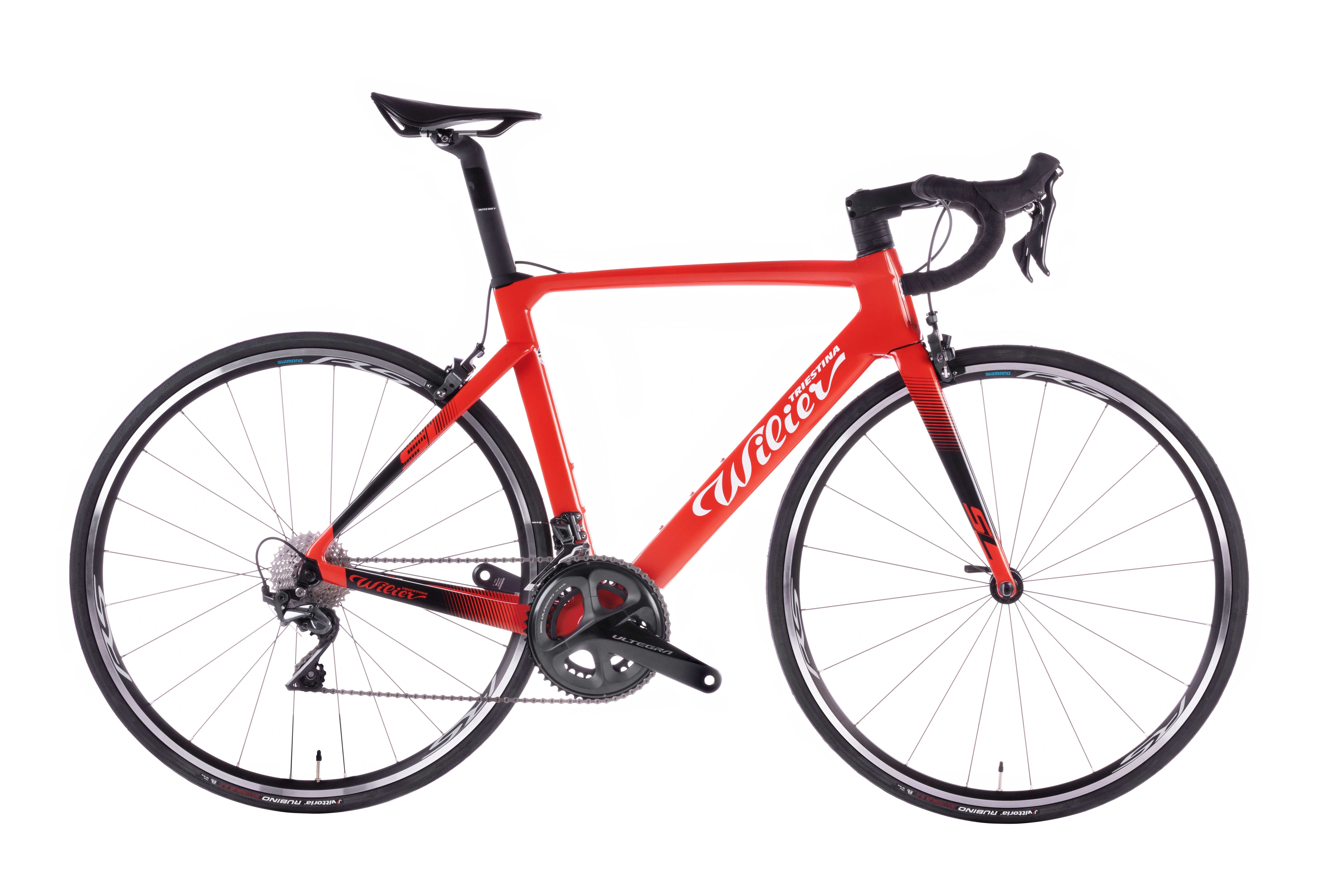 kolo CENTO10 SL Rim+ULTEGRA + RS100 red black  XL