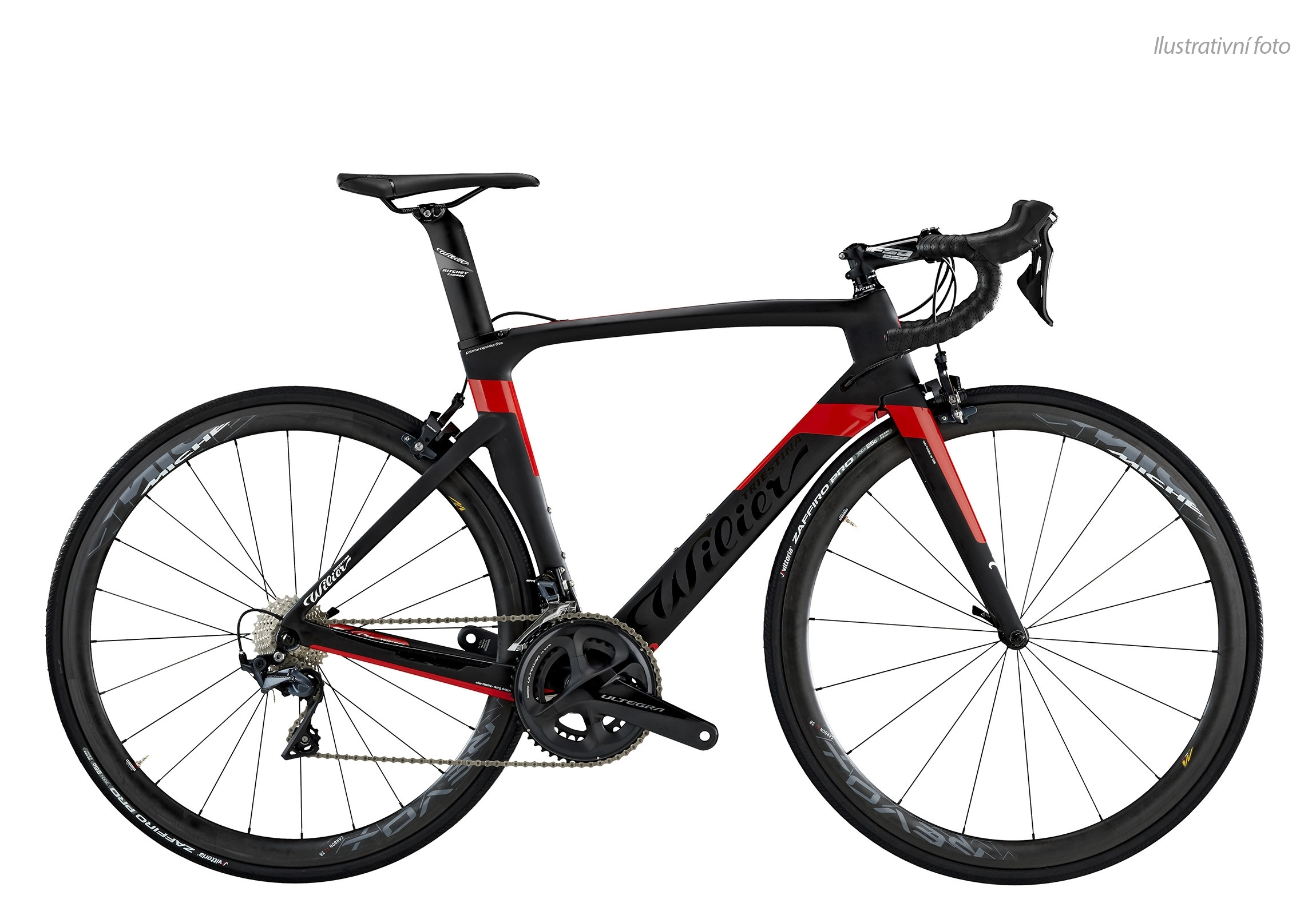 kolo CENTO1AIR 2018+ULTEGRA+COS.ELIT.Black Red XXL