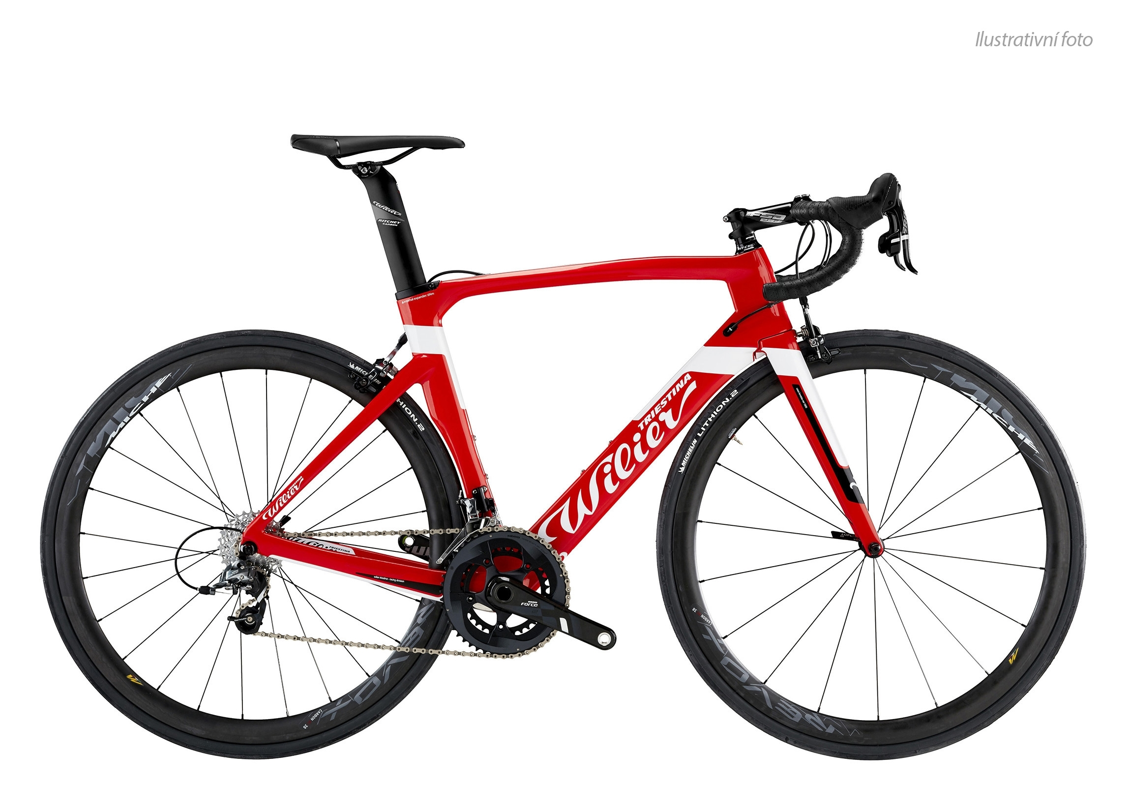 kolo CENTO1AIR 2018+ULTEGRA+COS.ELITE Red White L