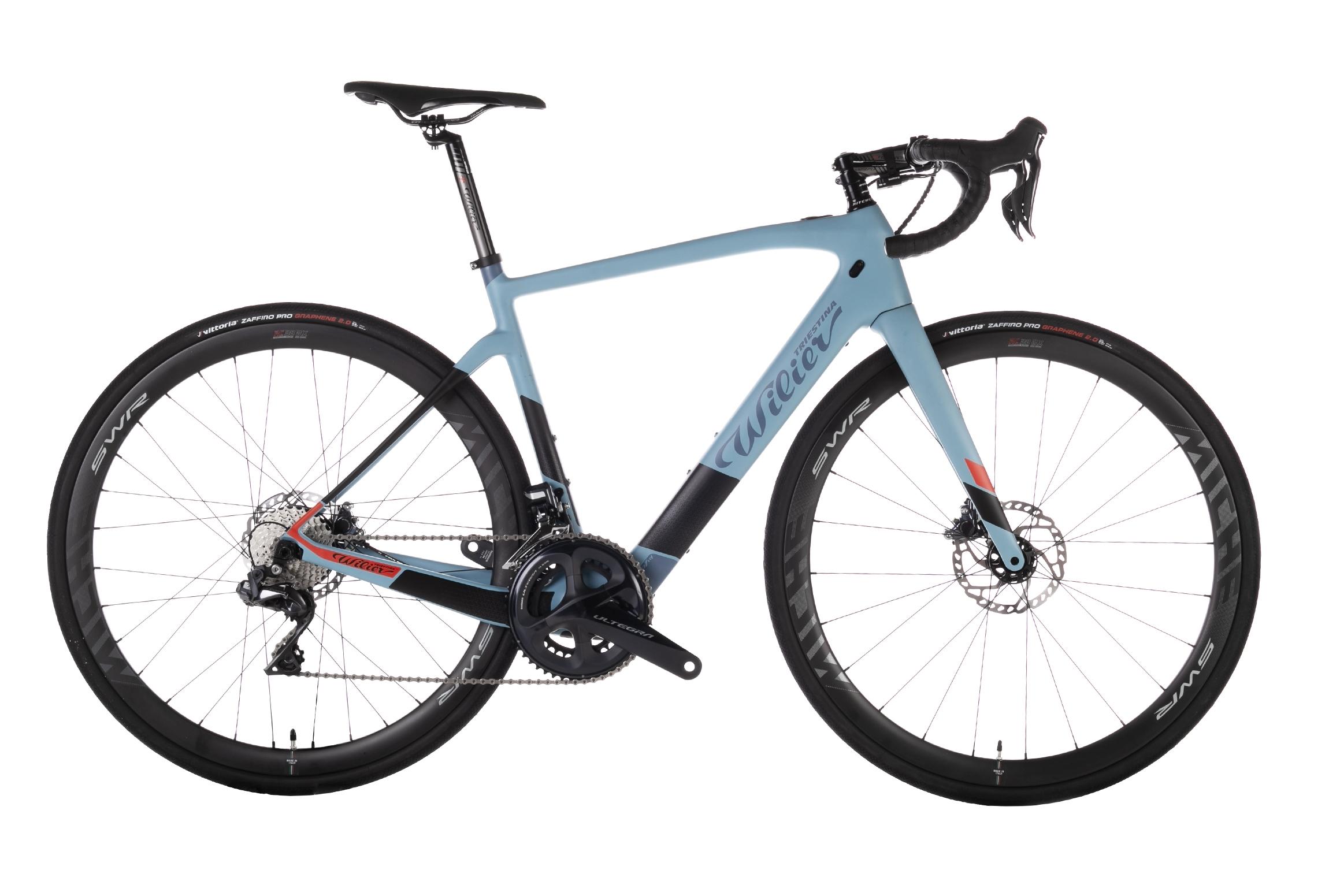 kolo CENTO1HY+ULTEGRA Di2 8070+REVOX blue black XL