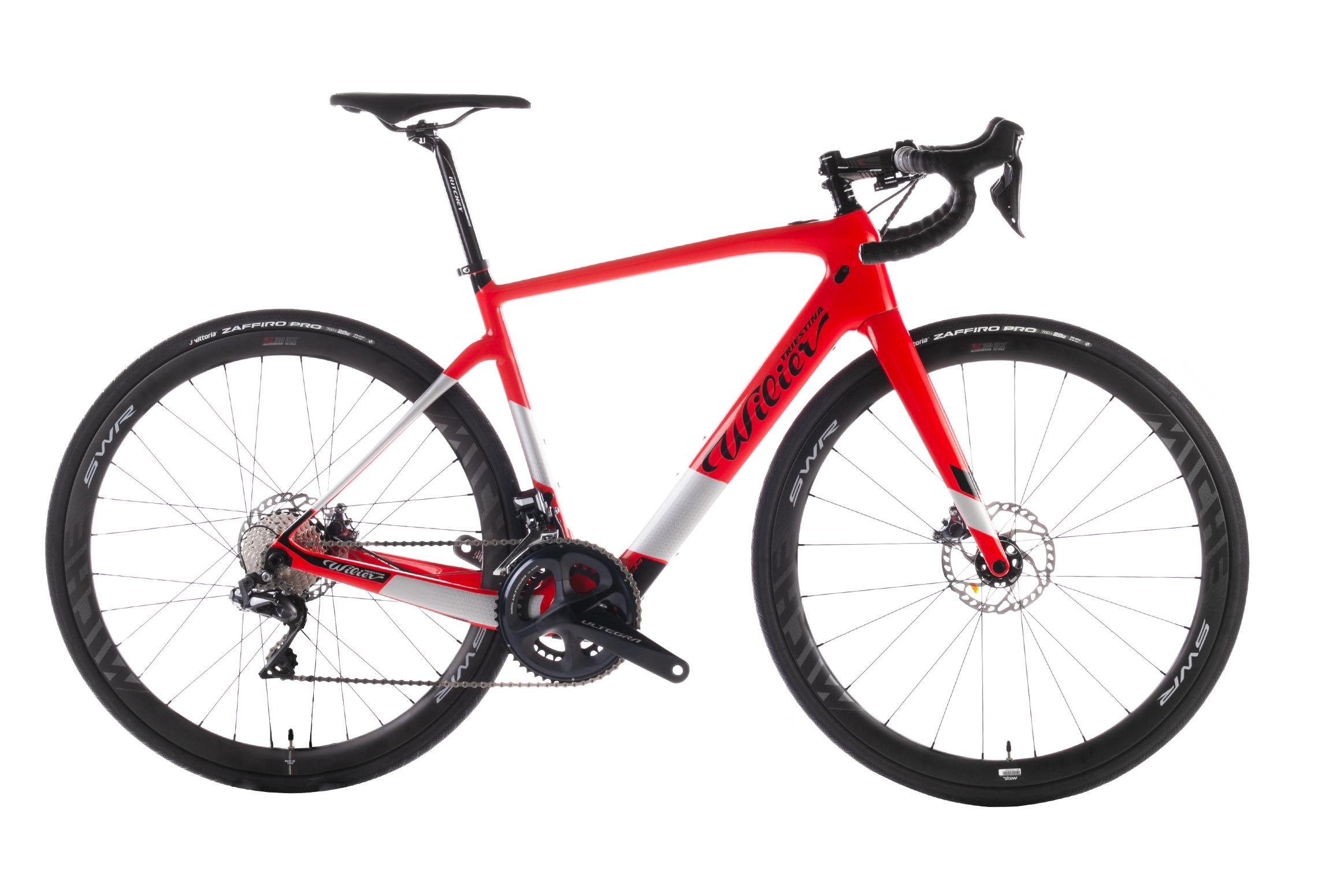 kolo CENTO1HY+ULTEGRA Di2 8070+REVOX red glossy XL