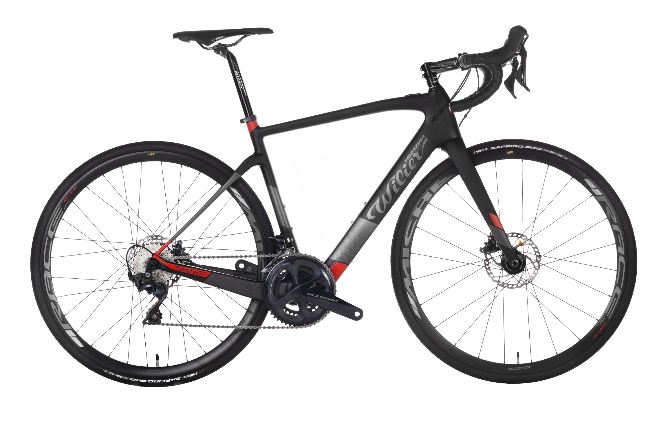 kolo CENTO1HY + ULTEGRA R8020 + MICHE black red S
