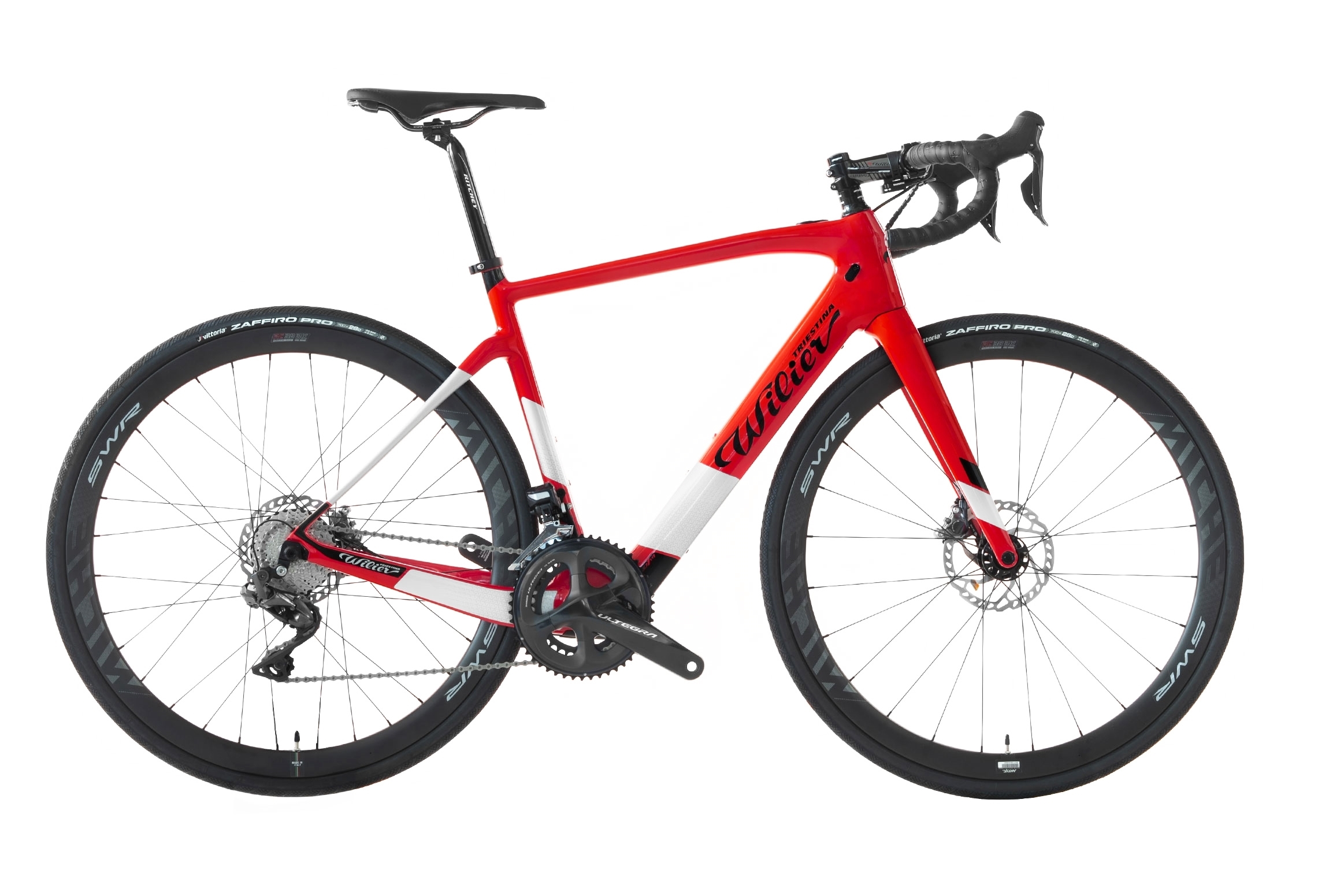 kolo CENTO1HY + ULTEGRA R8020+MICHE red glossy  XL