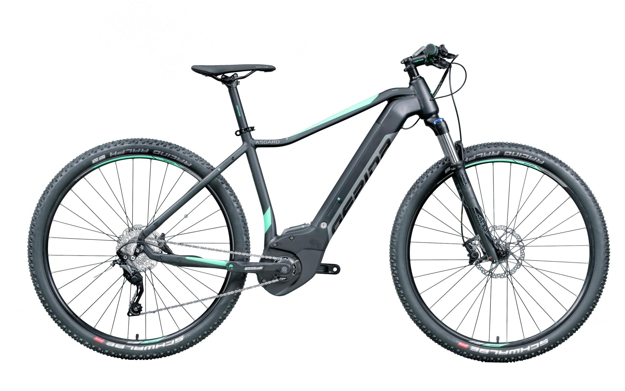 """kolo e-bike ASGARD 29"""" SLX 10, černo-zelená 19"""""""