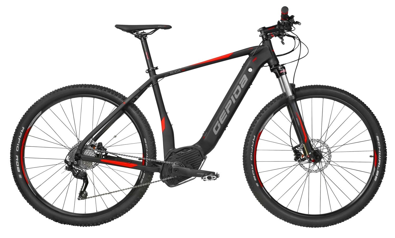 """kolo e-bike RUGA PRO 29"""" DEORE 10, črn-oranž. 21"""""""