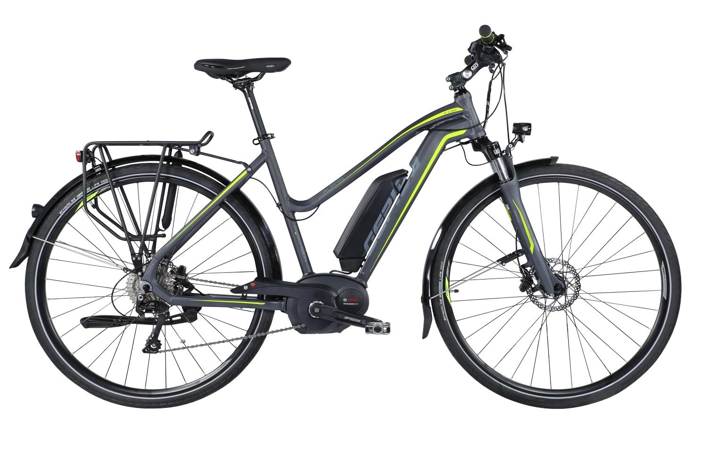 "kolo e-bikeALBOIN 1000 28"" L10S šedo-žlutá 48"