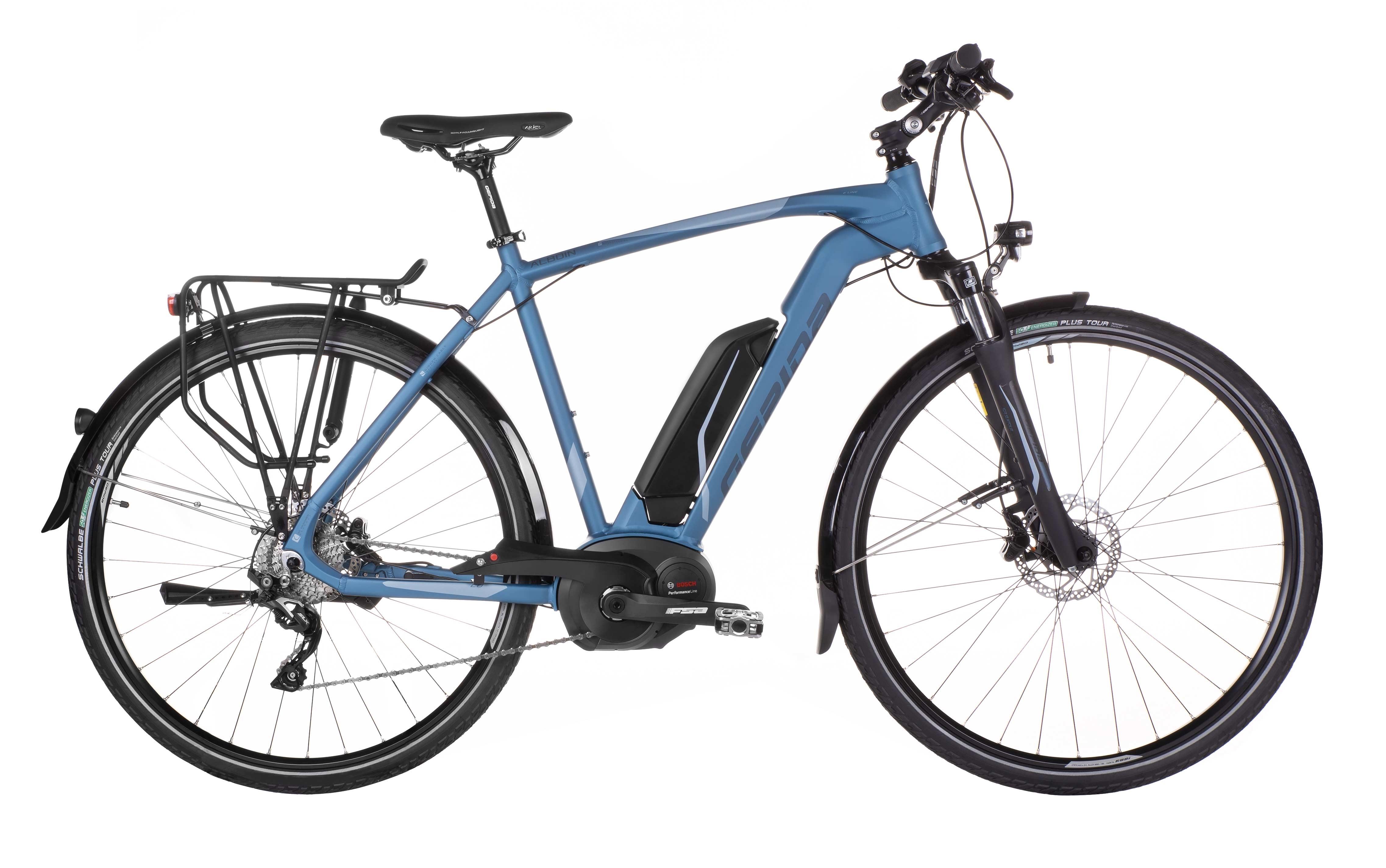 "kolo e-bikeALBOIN SLX10 28"" modrý 48"