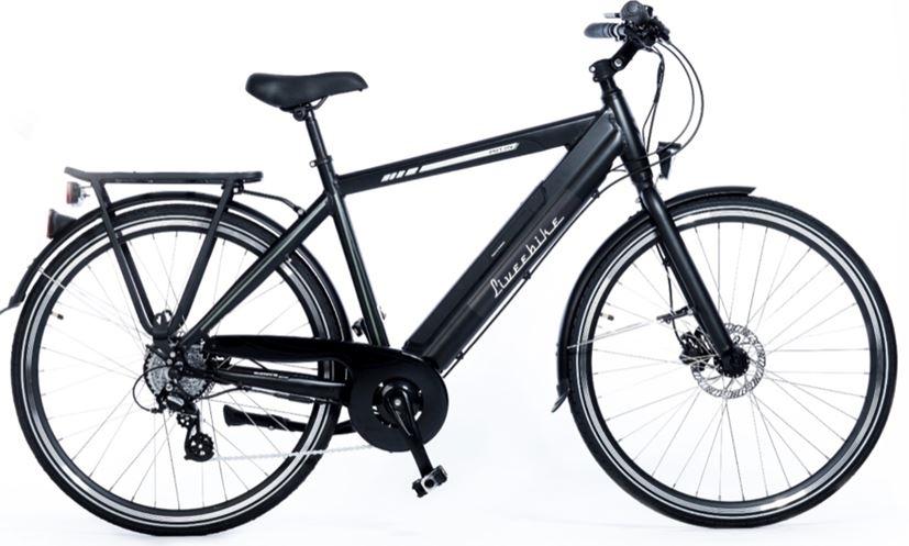"""kolo FORCE E-bike 28"""" Altus 1x8 20"""" pánské černé"""
